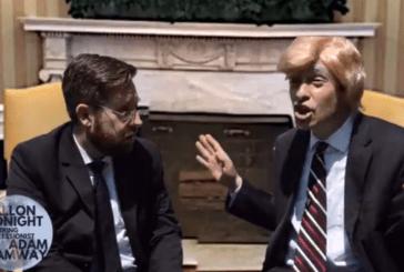 Trump Meeting with Russian Diplomats Fallon Tonight (Video)