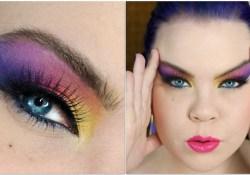 80S Eye Makeup 1980s Dramatic Af Makeup Tutorial Youtube
