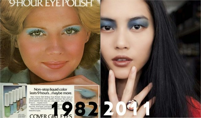 80S Eye Makeup Eyeshadow Placement 20s 80s And Absence Of Browbone Highlight