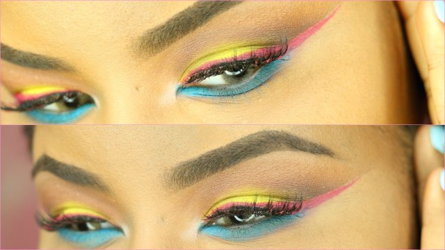 80S Eye Makeup Vintage 80s Eyeshadow Youtube