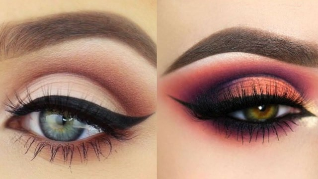 Beautiful Eye Makeup Easy And Beautiful Eye Makeup Tutorial Compilation Videos Youtube