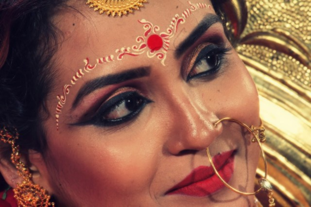 Bengali Eye Makeup Bridal Banter Ethereal Bengali Bridal Beauty Riya Nandi Hom Roy