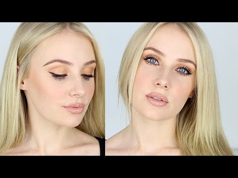 Best Eye Makeup For Pale Skin Makeup Tutorial For Fair Skin Contouring Nude Lips Bronze Eyes