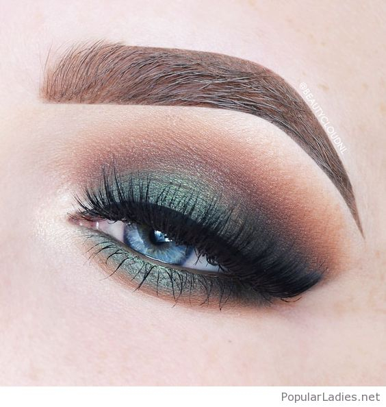 Blue Green Eyes Makeup Awesome Green Eye Makeup For Blue Eyes