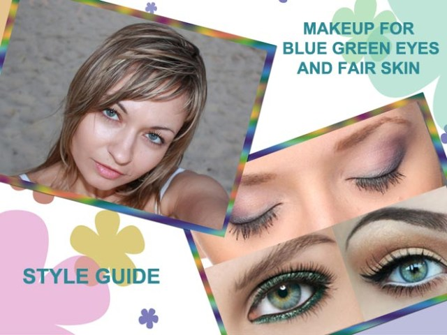 Blue Green Eyes Makeup Best Eye Makeup For Blue Green Eyes And Fair Skin Style Guide
