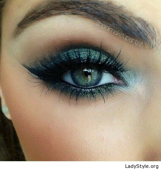 Blue Green Eyes Makeup Black And Green Eye Makeup For Blue Eyes Ladystyle