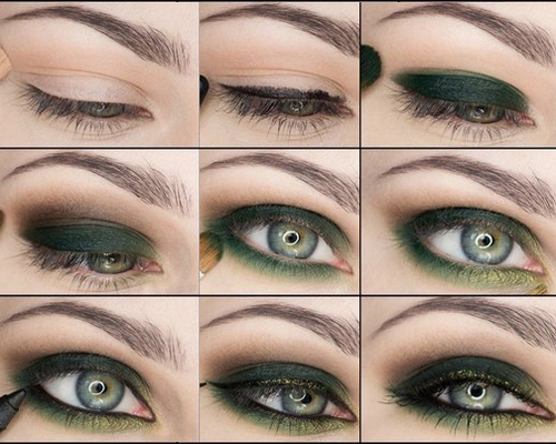 Blue Green Eyes Makeup How To Do A Smokey Eye Makeup For Green Eyes Stylewile