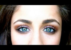 Blue Green Eyes Makeup How To Make Bluegreen Eyes Pop Youtube