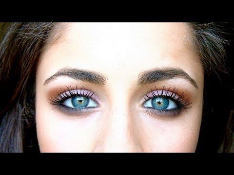 Blue Green Eyes Makeup How To Make Bluegreen Eyes Pop Youtube