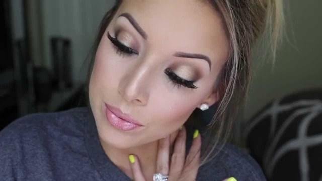 Bridal Eyes Makeup Pictures Bronzey Smokey Eye Tutorial My Wedding Makeup Youtube