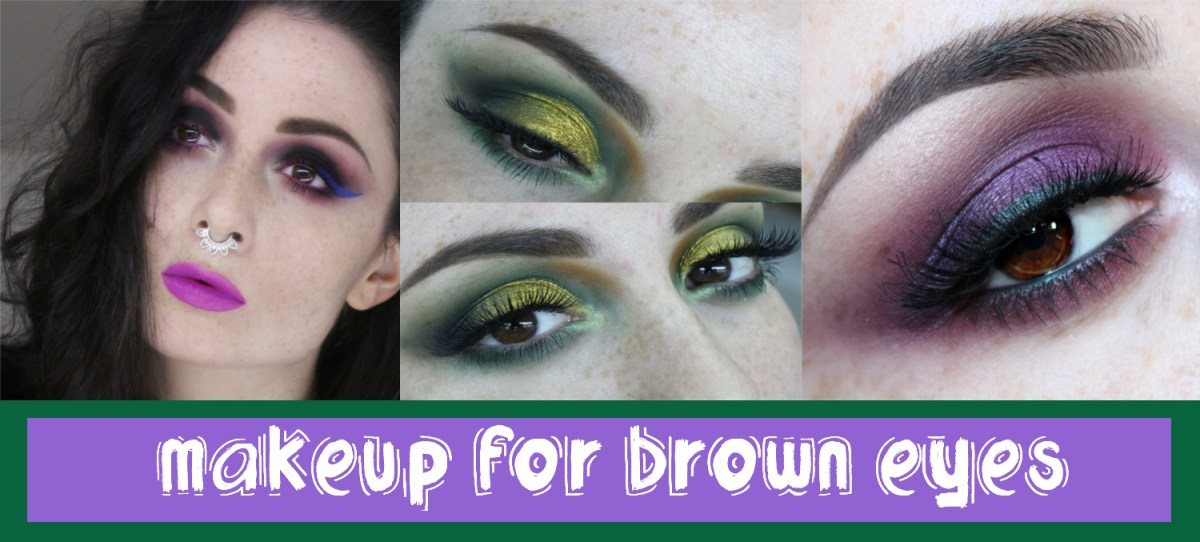 Brown And Purple Eye Makeup How To Make Brown Eyes Pop Glam Express