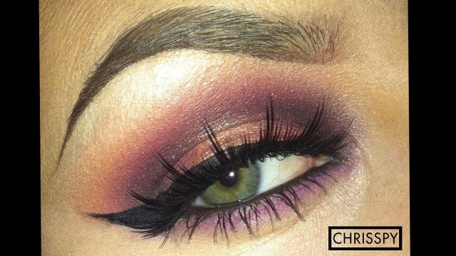 Brown And Purple Eye Makeup Purple Gold Sultry Eyeshadow Tutorial Youtube