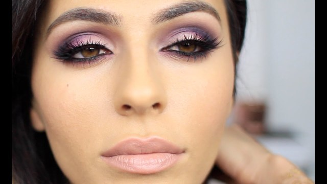 Brown And Purple Eye Makeup Purple Pink Smoky Eye Makeup Eye Makeup Tutorial Teni Panosian