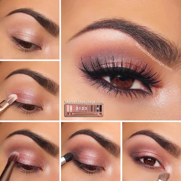 Brown Eyes Makeup Tutorial Eye Shadow For Brown Eyes Makeup Tutorials Guide Estheticnet
