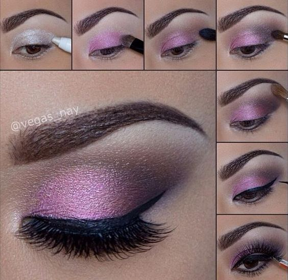 Brown Eyes Makeup Tutorial Purple Eye Makeup Tutorial Brown Eyes Pictures Photos And Images