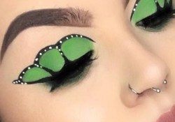 Butterfly Eye Makeup Butterfly Eye Makeup Will Give Your Winged Liner A Metamorphosis