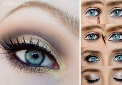 Cute Makeup Tutorials For Blue Eyes 12 Easy Step Step Makeup Tutorials For Blue Eyes Her Style Code