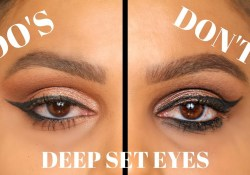 Deep Set Eyes Makeup Deep Set Eyes Dos And Donts Makeup Eyeshadow Winged Eyeliner