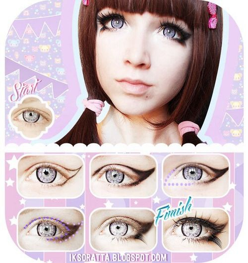 Doll Makeup Eyes Best Ideas For Makeup Tutorials Winged Doll Eye Makeup Tutorial