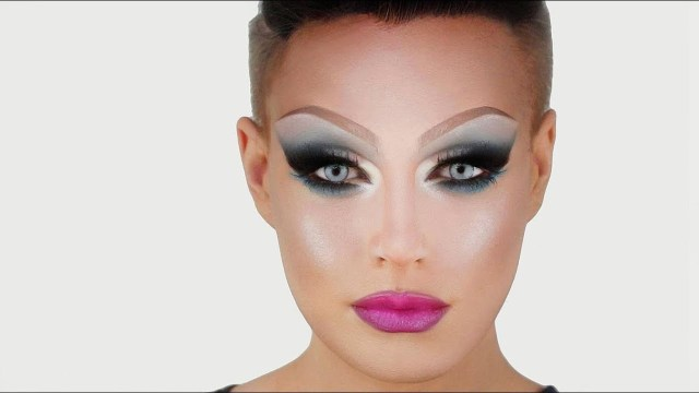 Drag Eye Makeup Drag Queen Mermaid Makeup Before Drag Race Cosmo Original Youtube