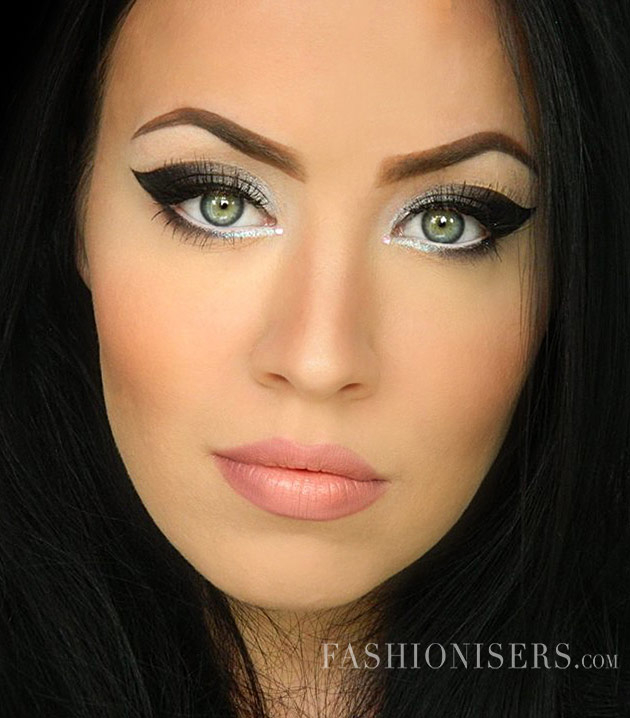 Dramatic Makeup For Small Eyes Dramatic Cat Eye Makeup Tutorial Fashionisers
