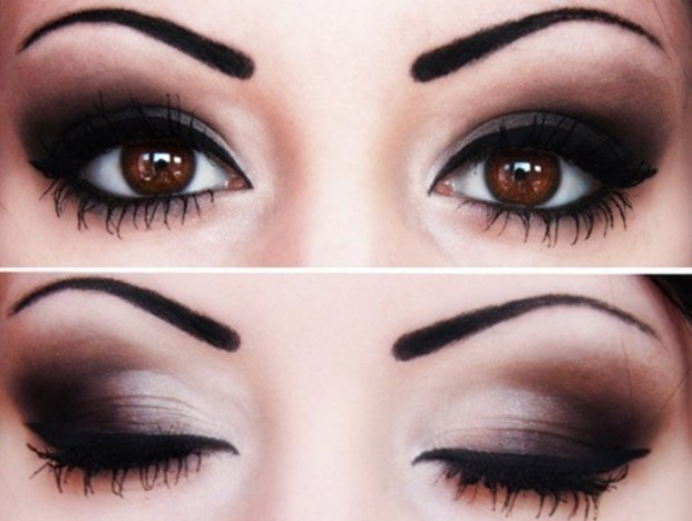 Edgy Eye Makeup Our Favorite Edgy Makeup Looks Glam Gowns Blog