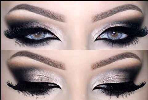 Edgy Eye Makeup Smokey Eye Makeup Looks From A Dramatic Black To A Soft Pink
