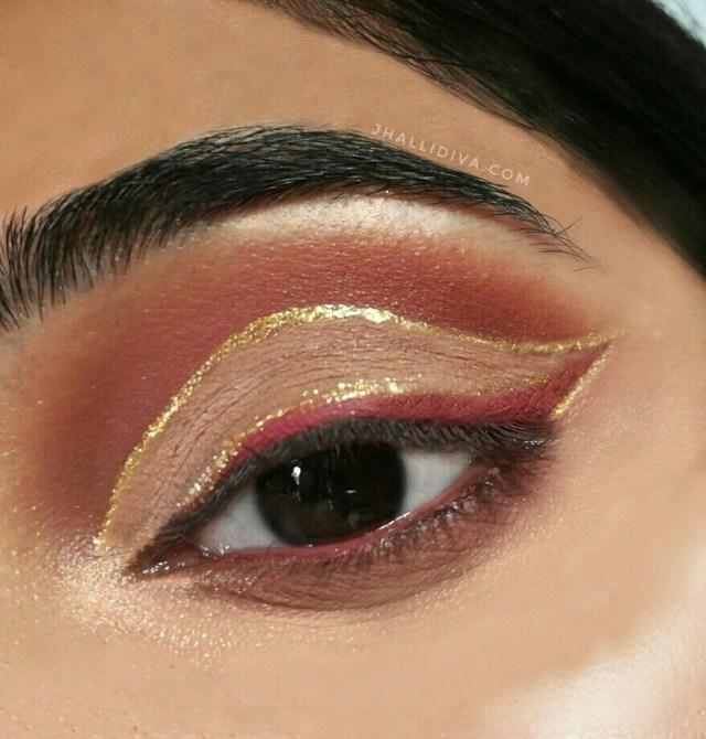 Eye Makeup Demo Simple Glam Holiday Glitter Eye Look Tutorial Jhalli Diva