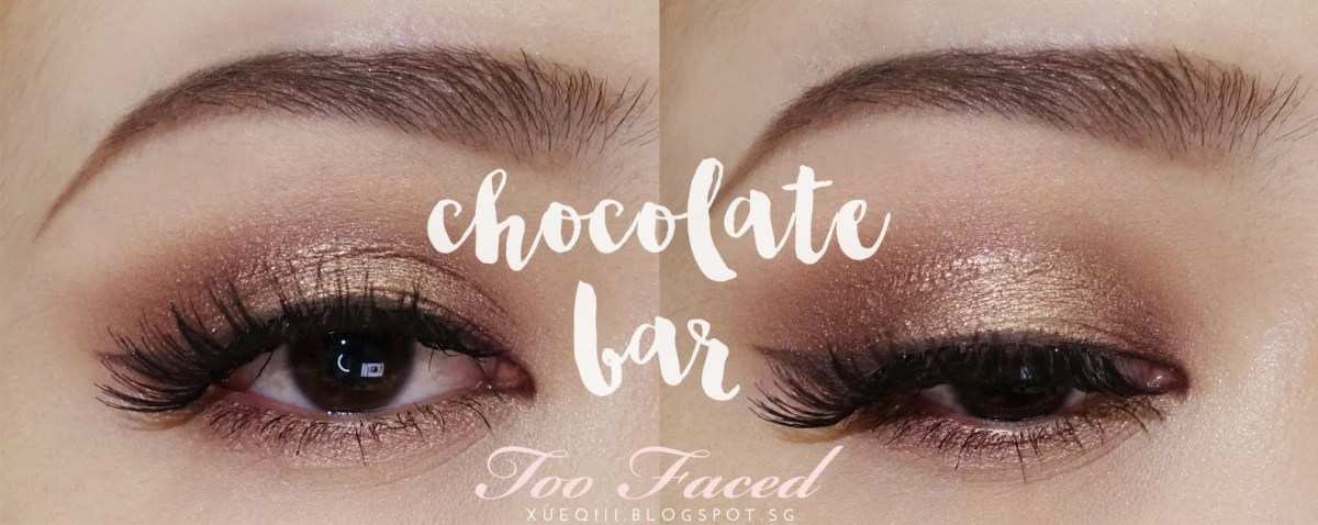 Eye Makeup Demo Warm Brown And Golden Makeup Look Ft Too Faced Chocolate Bar