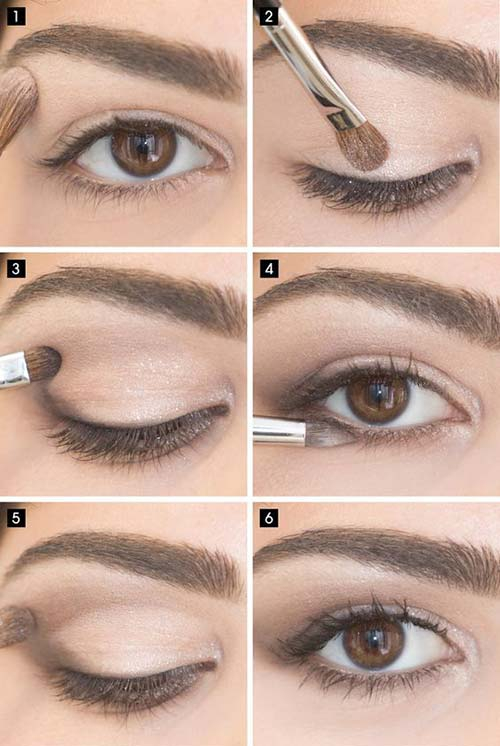 Eye Makeup For Coral Dress 25 Gorgeous Eye Makeup Tutorials For Beginners Of 2019