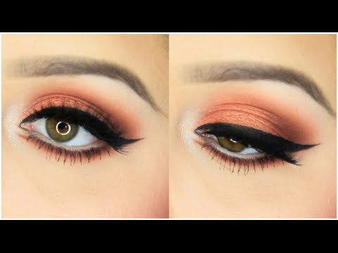 Eye Makeup For Coral Dress Peach Coral Spring Makeup Tutorial Youtube