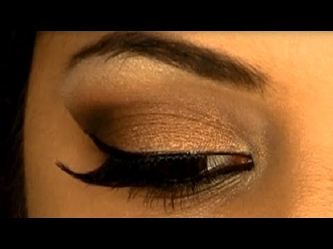 Eye Makeup For Dusky Complexion Glamorous Sexy Bronze Smokey Eye Makeup Indian Skin Tone Youtube