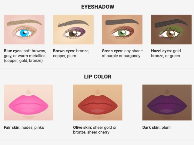 Eye Makeup For Light Brown Skin The Best Makeup For Your Skin Tone And Eye Color Insider