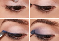 Eye Makeup For Navy Blue Dress Lulus How To Navy Smokey Eye Makeup Tutorial Lulus Fashion Blog