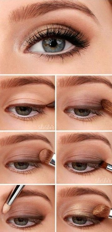 Eye Makeup For Red Heads The 6 Step Eye Makeup Tutorial For Redheads How To Be A Redhead