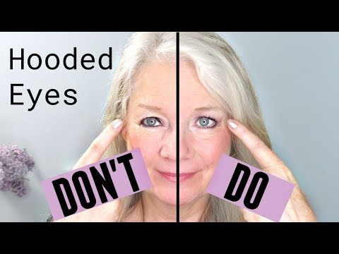 Eye Makeup For Women Over 60 Dos And Donts For Hooded Downturn Or Mature Eye Makeup Makeup