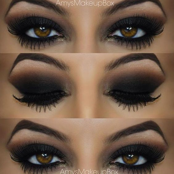Eye Makeup Smokey Brown 20 Easy Step Step Smokey Eye Makeup Tutorials For Beginners
