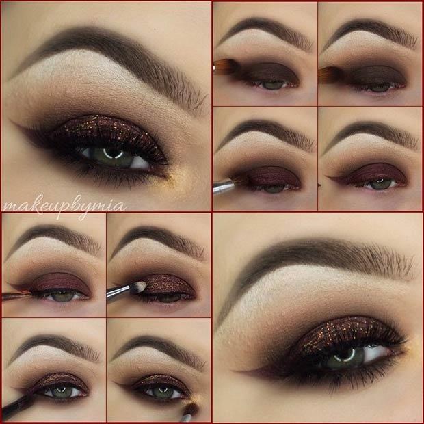 Eye Makeup Smokey Brown 21 Glamorous Smokey Eye Tutorials Stayglam