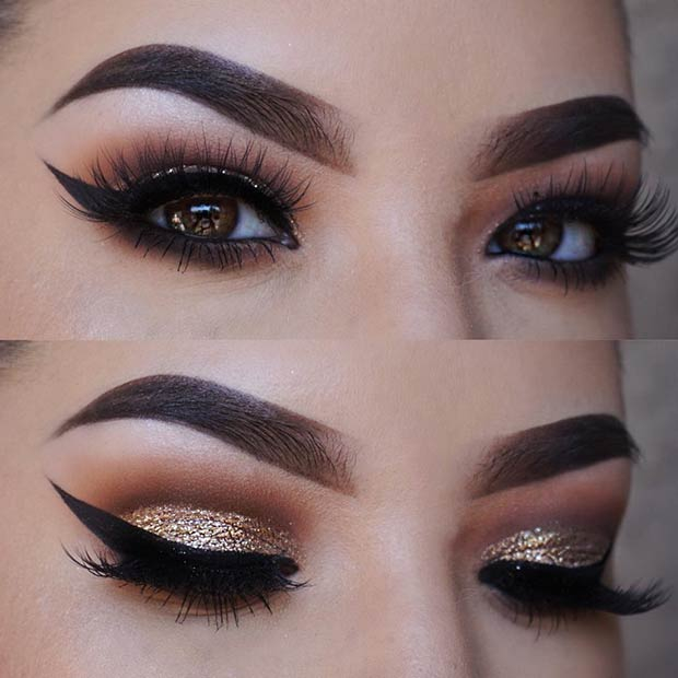 Eye Makeup Smokey Brown 41 Gorgeous Makeup Ideas For Brown Eyes Stayglam