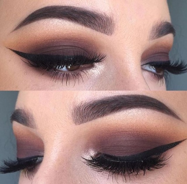 Eye Makeup Smokey Brown Brown Smokey Eye Makeup Makeup Styles