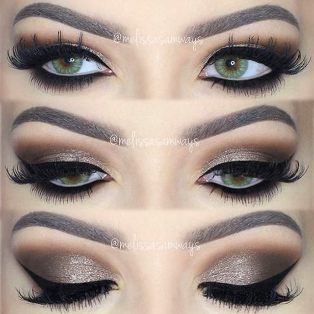 Eye Makeup Smokey Brown Dramatic Brown Smokey Eye Makeup Video Tutorial Makeup2do