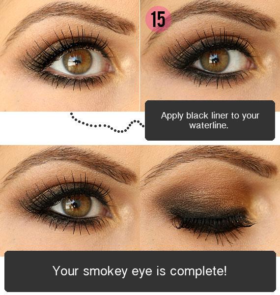 Eye Makeup Smokey Brown How To Do Eye Makeup Brown Smokey Eye Tutorial