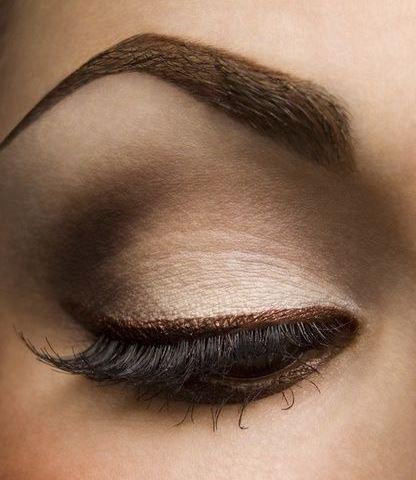 Eye Makeup Smokey Brown Step Step Smokey Brown Eyeshadow Tutorial Amazingmakeups