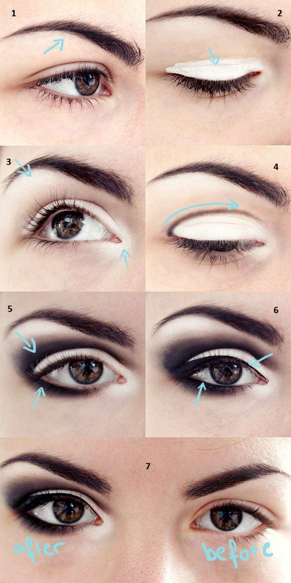 Eye Makeup To Make Small Eyes Look Bigger Best Eye Makeup Tips And Tricks For Small Eyes Fashionspick