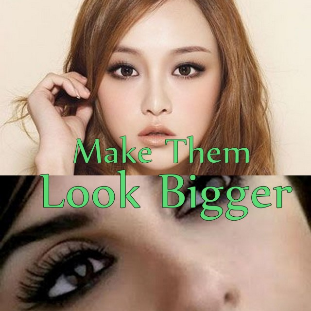 Eye Makeup To Make Small Eyes Look Bigger Eye Makeup For Small Eyes Make Them Look Bigger