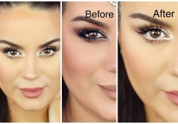 Eye Makeup To Make Small Eyes Look Bigger How To Make Eyes Look Bigger Neutral Smokey Eye Makeup Tutorial