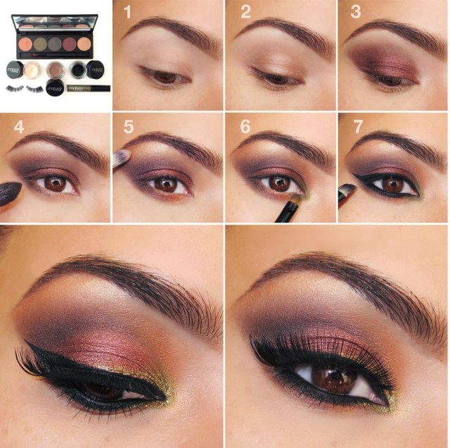 Eye Makeup Tutorials Step By Step 20 Simple Easy Step Step Eyeshadow Tutorials For Beginners Her