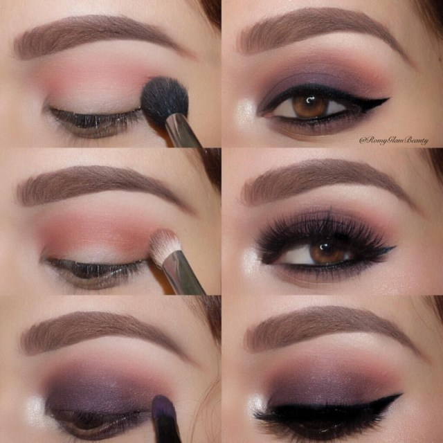 Eye Makeup Tutorials Step By Step 26 Easy Step Step Makeup Tutorials For Beginners Pretty Designs