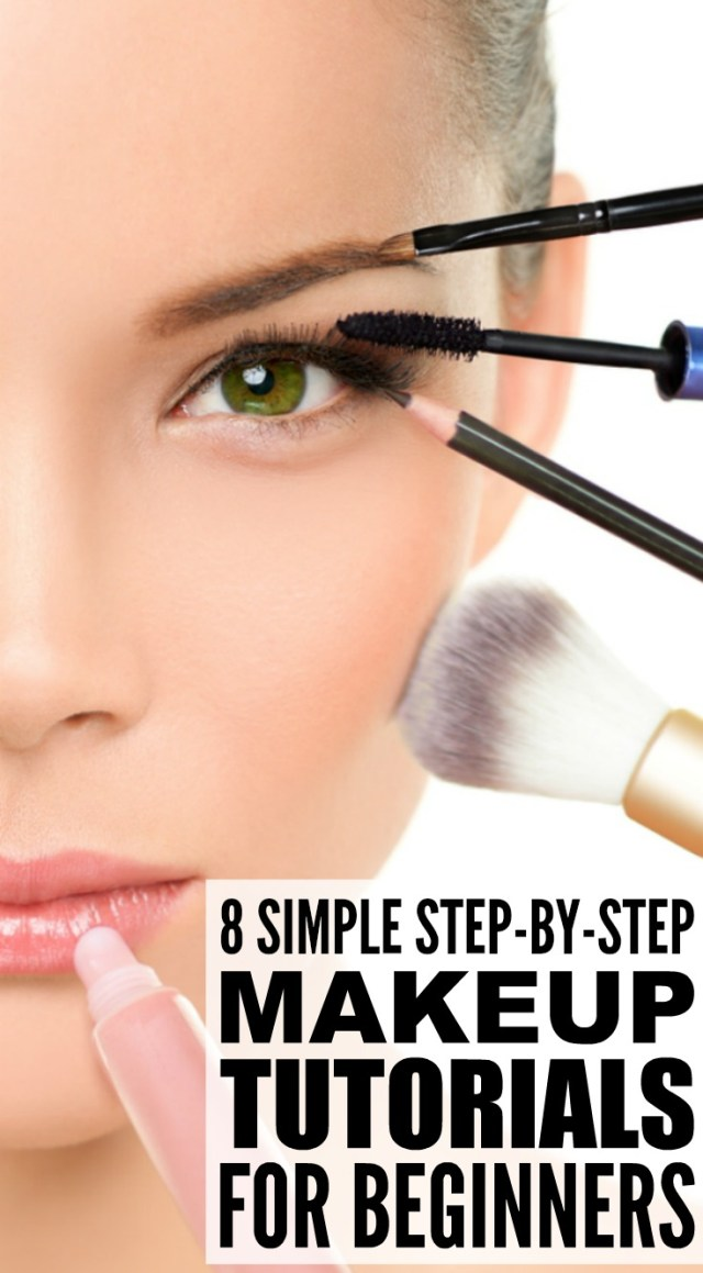 Eye Makeup Tutorials Step By Step 8 Step Step Makeup Tutorials For Beginners