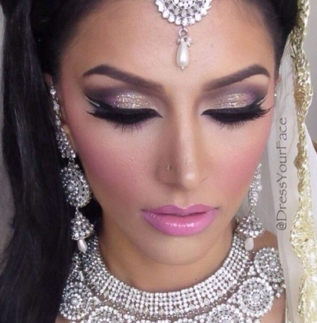 Eye Makeup With White Dress 10 Latest Bridal Makeup Looks Skin Care Tips Indian Makeup And
